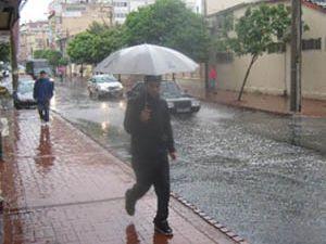 Pazar günü yağmur geliyor