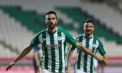 Konyaspor 9 kişiyle kazandı | Konyaspor-Fenerbahçe: 1-0