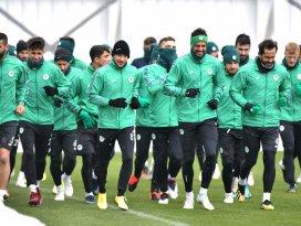 Konyasporda Gençlerbirliği maçı hazırlıkları başladı
