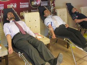 İttifaktan kan bağışına destek