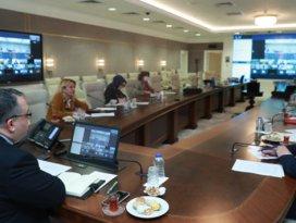 Bilim Kurulu üyeleri Çinli yetkililer ile video konferans gerçekleştirdi