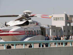 Başbakan Konyadan helikopterle Muta gitti
