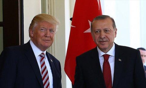 Cumhurbaşkanı Erdoğan, Trump ile koronavirüs salgınını görüştü