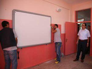 Selçuklu Belediyesinden okullara akıllı tahta