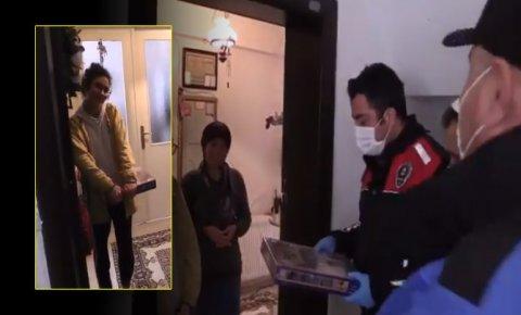 Konya polisinden genç kıza sürpriz!
