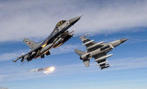 Irakın kuzeyinde 4 PKK'lı terörist etkisiz hale getirildi