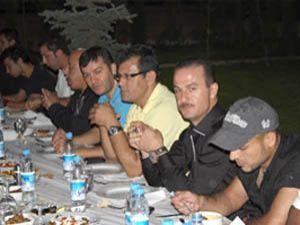 Konyasporda iftar yemeği