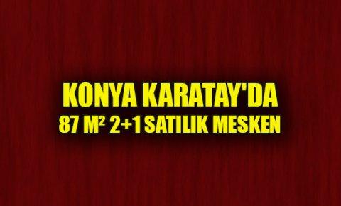 Konya Karatayda satılık 87 m² 2+1 mesken