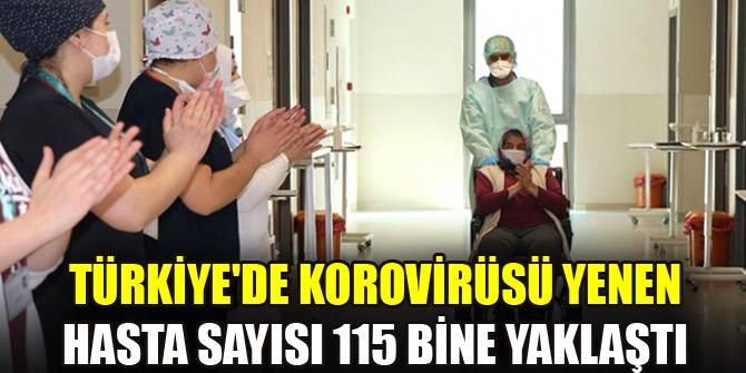 Türkiyede Kovid-19dan iyileşen hasta sayısı 114 bin 990a ulaştı