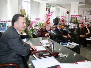 Beyşehir Belediyesinin ilk meclisi