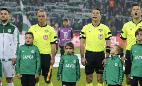 Konyaspor-Rizespor maçının hakemi belli oldu!