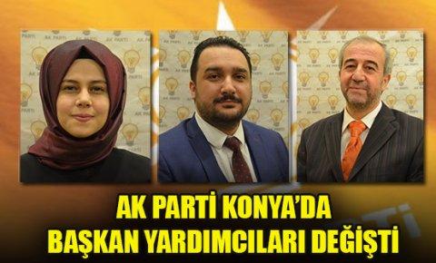 AK Parti Konya'da başkan yardımcıları değişti