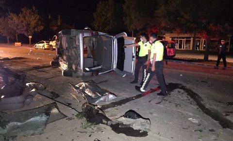 Konyada minibüs kontrolden çıktı, sürücü hayatını kaybetti