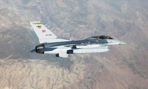 4 PKKlı terörist, hava harekâtıyla etkisiz hale getirildi