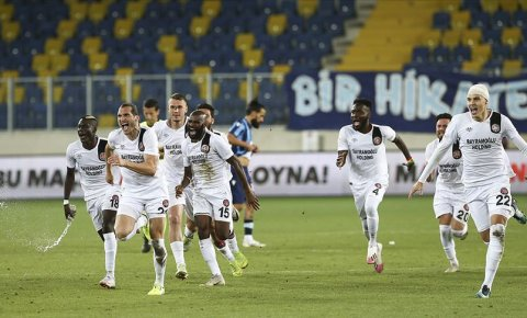 Fatih Karagümrükte Süper Lig sevinci