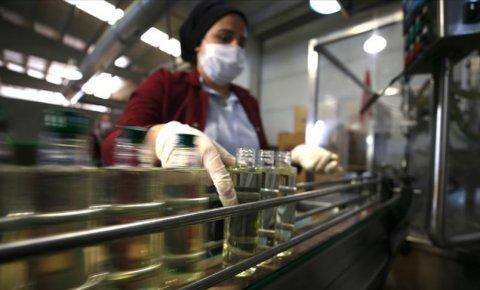 Türkiyenin kolonya ihracatı yılın ilk yarısında rekor seviyeye ulaştı