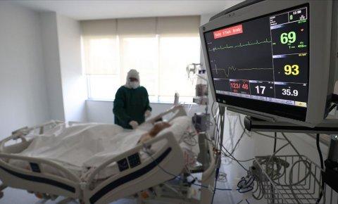 Türkiyede Kovid-19 aktif vaka ve ağır hasta sayısı artıyor
