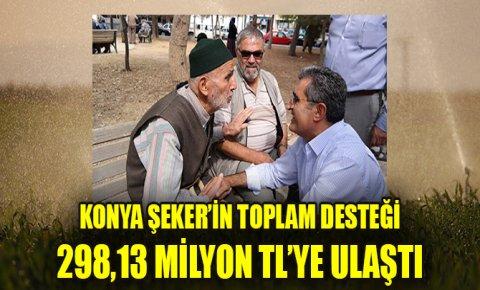 Konya Şeker'in toplam ayni ve nakdi avans desteği 298,13 milyon TL'ye ulaştı