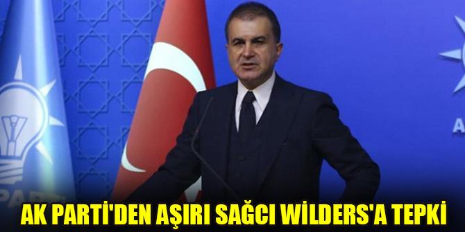AK Partiden aşırı sağcı Wildersa tepki