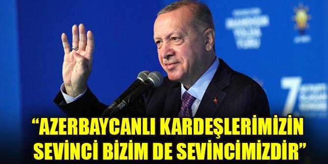 Cumhurbaşkanı Erdoğan: Bir yıl içerisinde depremzede kardeşlerimize konutlarını teslim edeceğiz