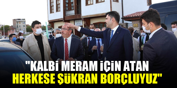Başkan Kavuş: Kalbi Meram için atan herkese şükran borçluyuz