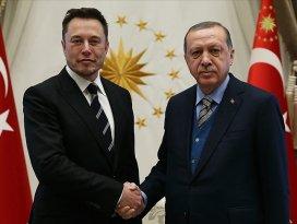 Erdoğan ile Musk telefonda görüştü