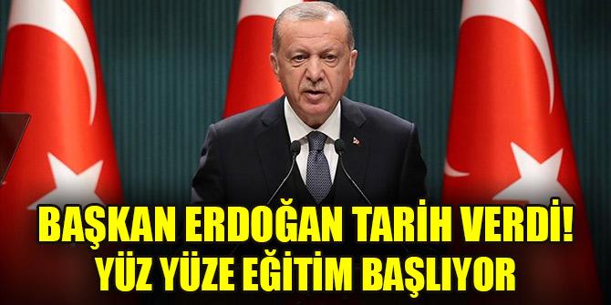 Cumhurbaşkanı Erdoğan: Köy okullarında 15 Şubatta yüz yüze eğitim başlıyor