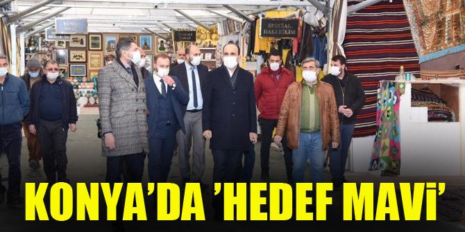 Konya'da 'Hedef Mavi'