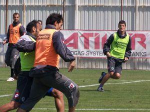 Konyaspor Gençlerbirliğine hazırlanıyor