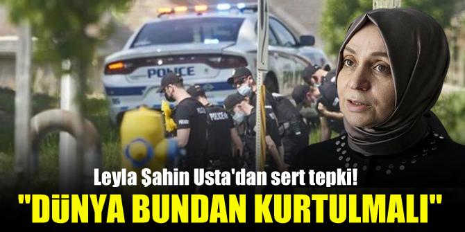 Leyla Şahin Ustadan sert tepki! Dünya bundan kurtulmalı