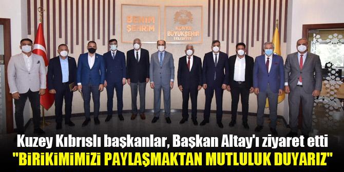 Başkan Altay: Birikimimizi sizlerle paylaşmaktan mutluluk duyarız