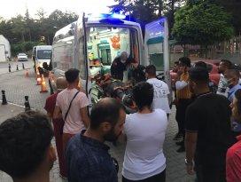 Konyada hafif ticari araç ile motosiklet çarpıştı: 2 yaralı