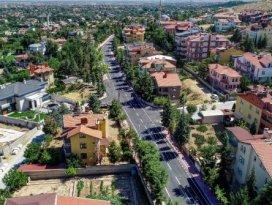 Meram'da Köyceğiz Caddesi yenilendi