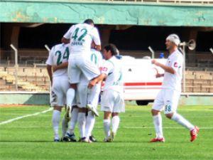 Konya Şekerspor gol oldu yağdı
