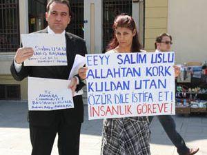 Salim Usluya suç duyurusu