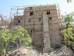 Tarihi Orta camii restore ediliyor