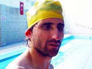Görme engellilerin yüzme sevinci