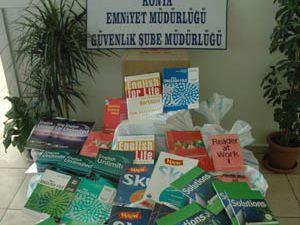 Konyada 6 bin korsan kitap ele geçirildi