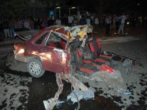 Konyada trafik kazası : 3 ölü