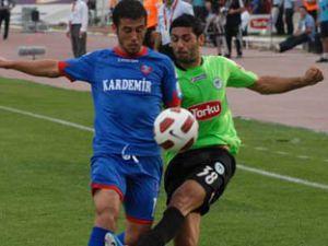 Konyaspor Karabükten 1 puan alabildi