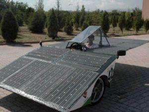 Konyada güneş enerjili otomobil üretildi
