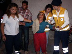Yangından kurtuldu evde kalan parası için ağladı