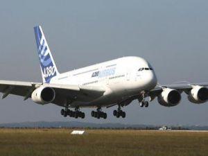 Dünyanın en büyük uçağı Türkiyede