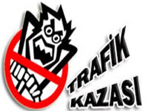Karapınarda trafik kazası: 2 yaralı