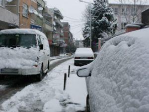 Seydişehirde kar hayatı olumsuz etkiliyor