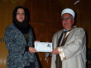 Şilili kadın Konyada Müslüman oldu