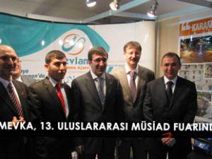 MEVKA, Fuarda yatırımcılara Konyayı anlattı