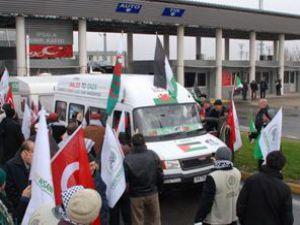 Gazze konvoyu mağdur ediliyor