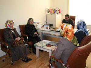 AK Parti Konya İl Kadın Kollarından STKlara ziyaret