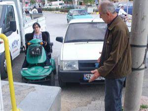 Engellilerden sürücülere tepki